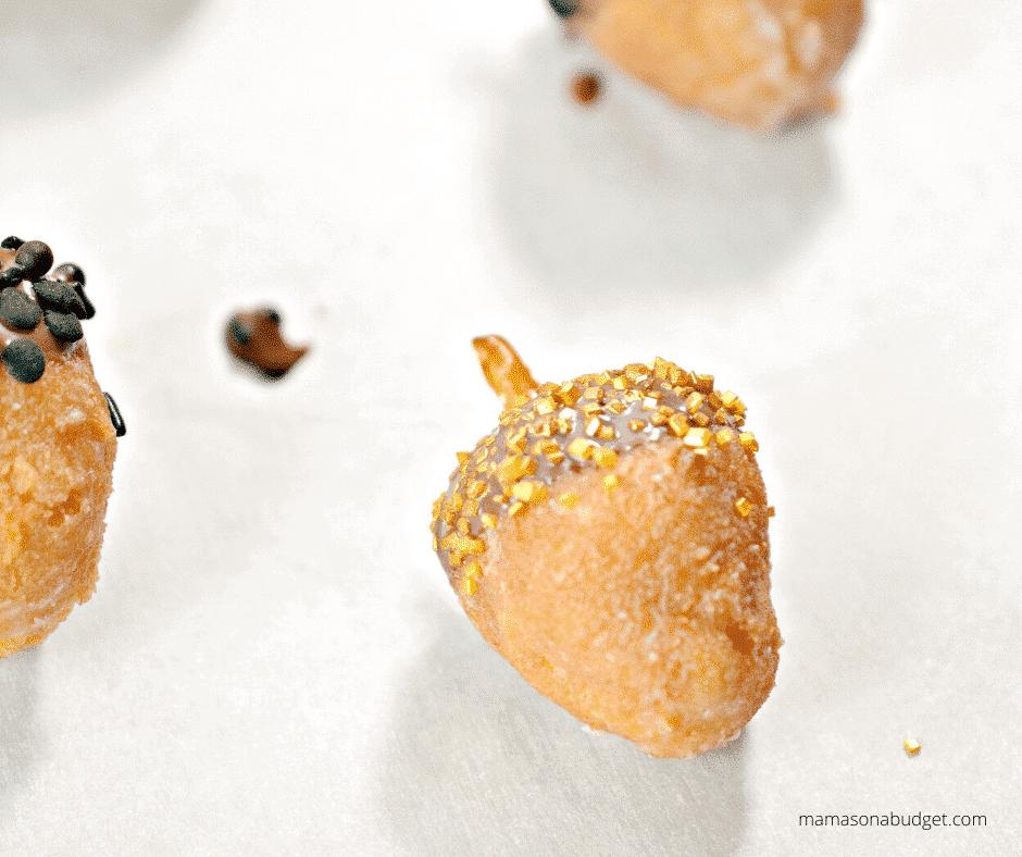 pretzel inside donut hole