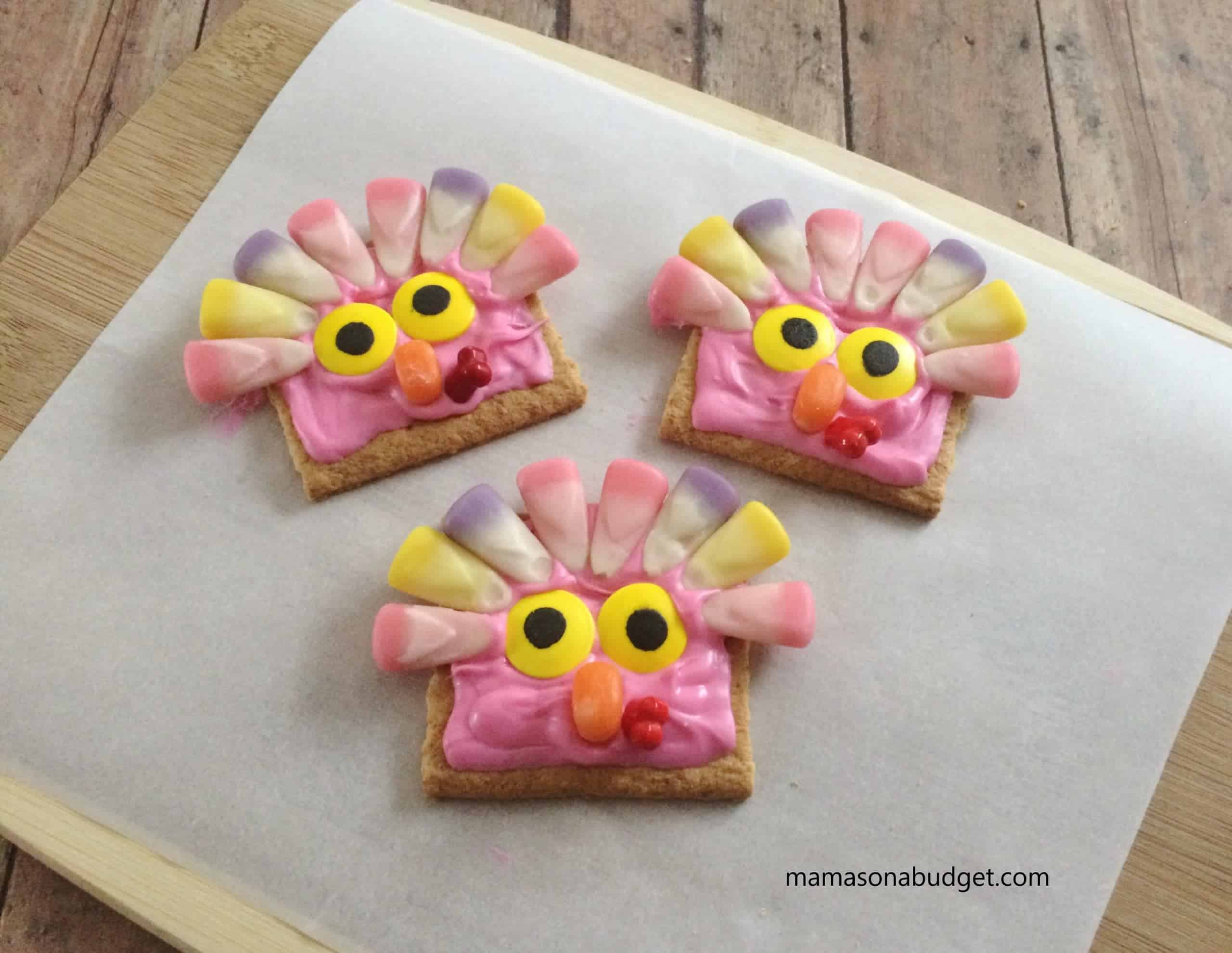 Completed Pink Turkeys