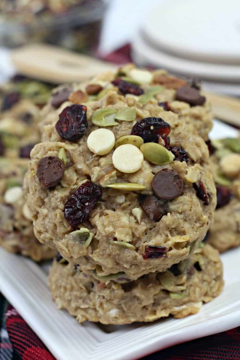 Close up of Arizona Trail Mix Cookie