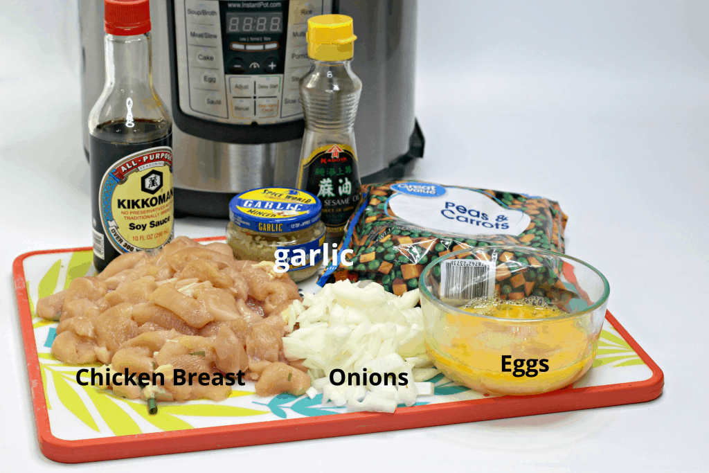 Chicken Fried Rice Ingredients