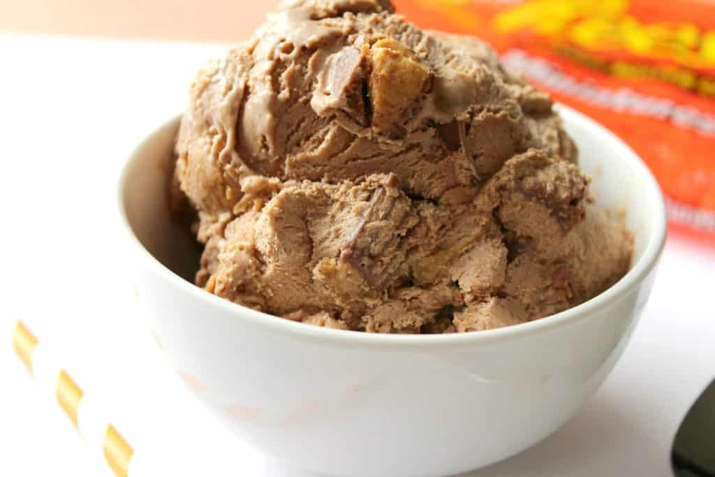 Reese's No Churn Ice Cream
