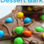 Caramel M&M Bark
