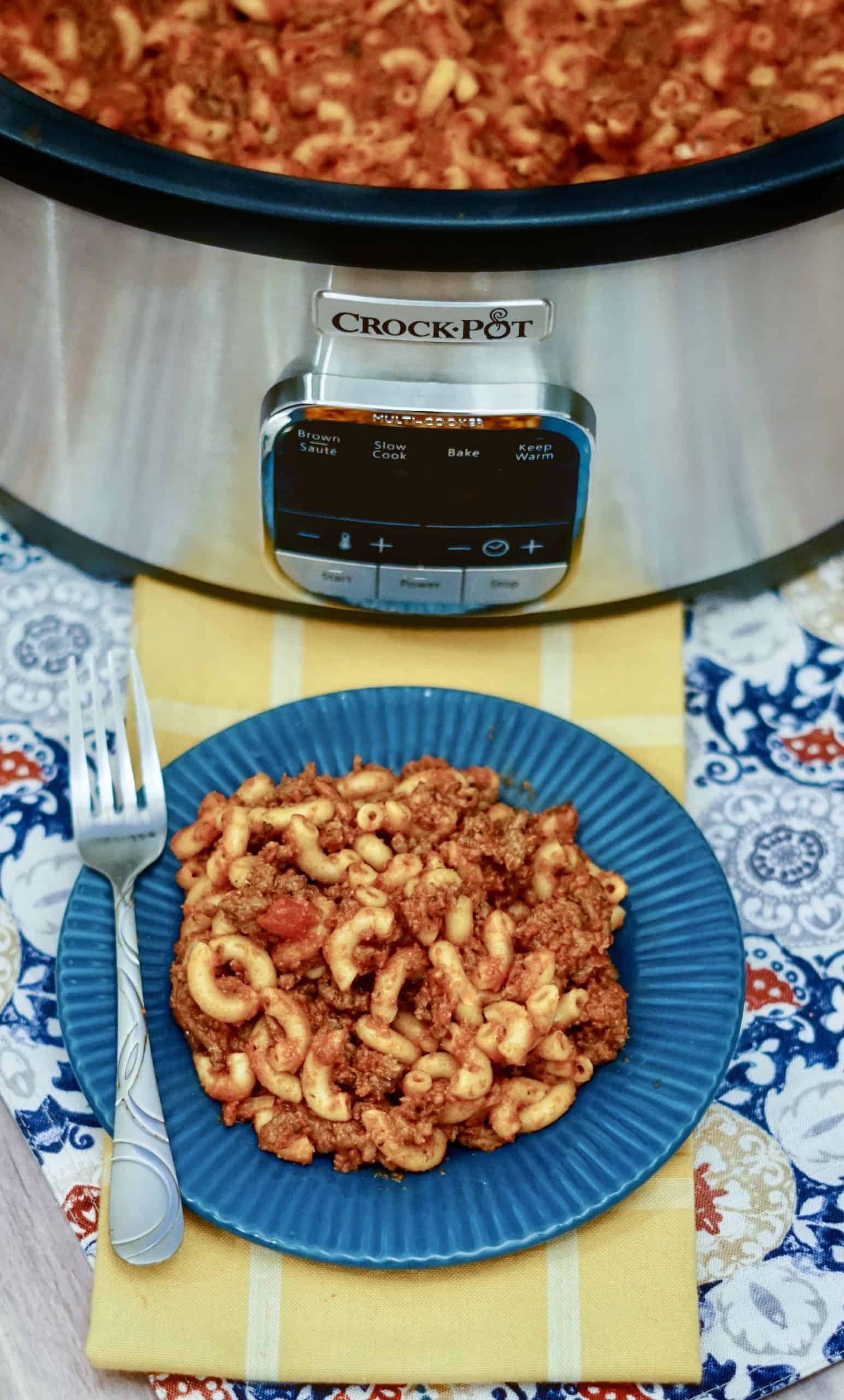 Crock Pot Goulash
