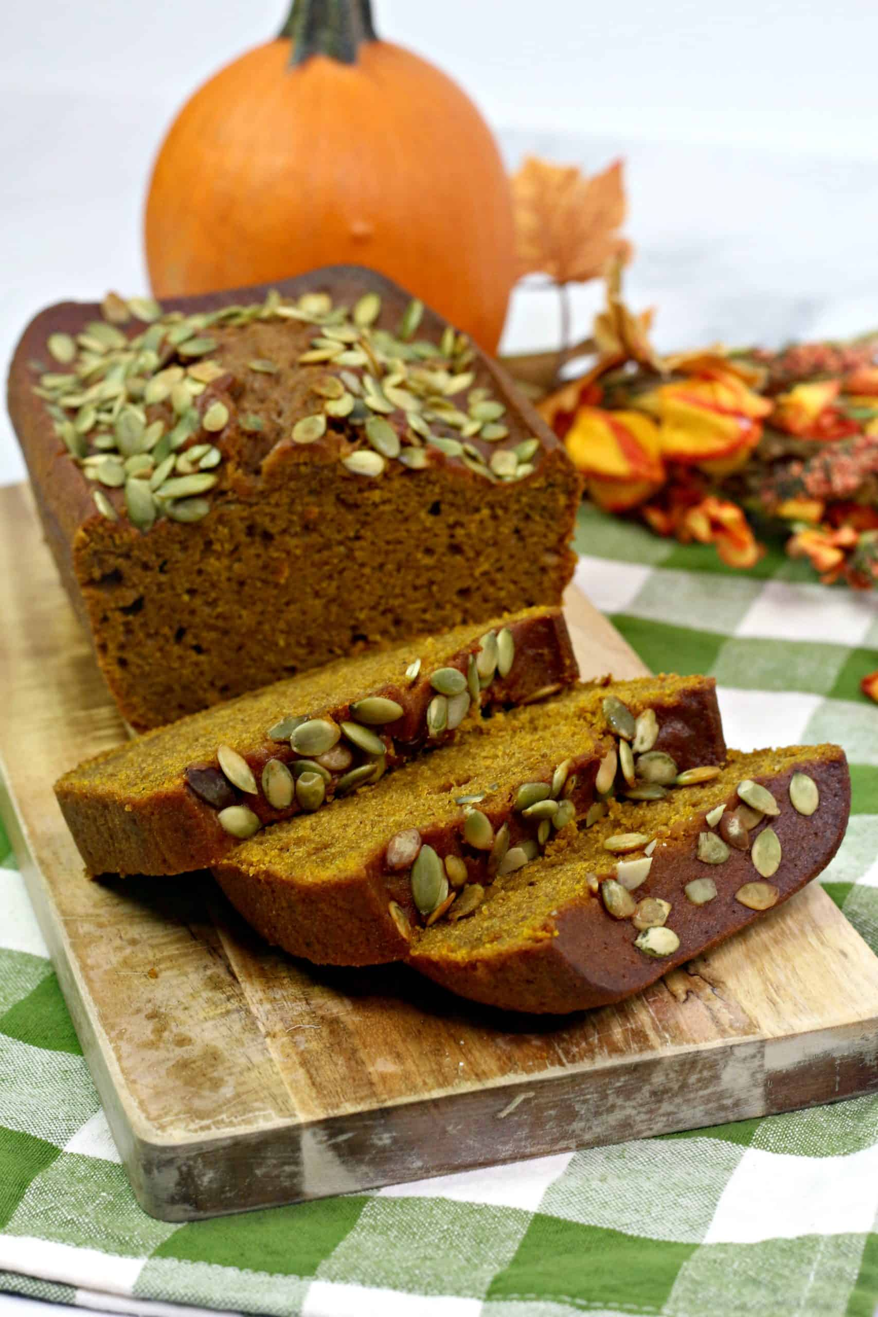 Starbucks Pumpkin Loaf