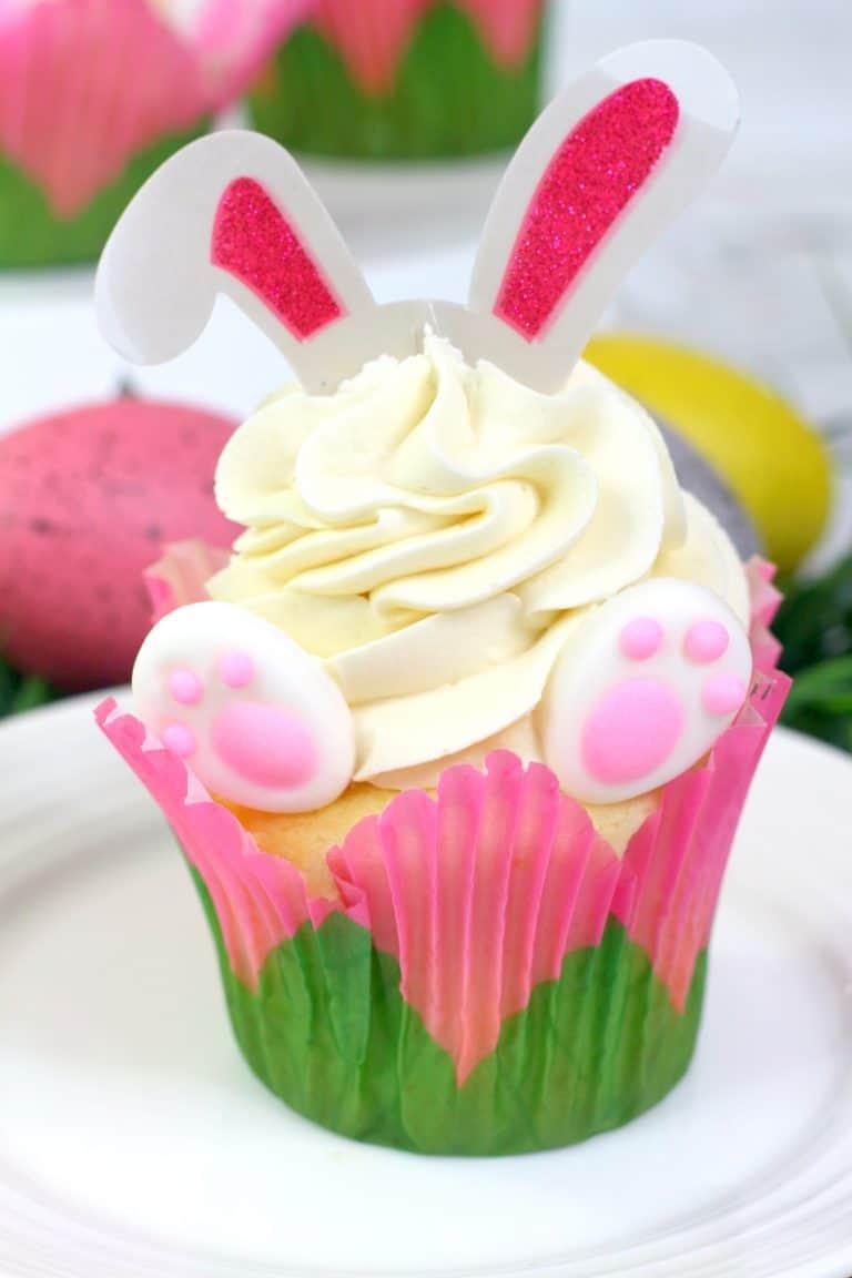 Bunny Ears Cupcake