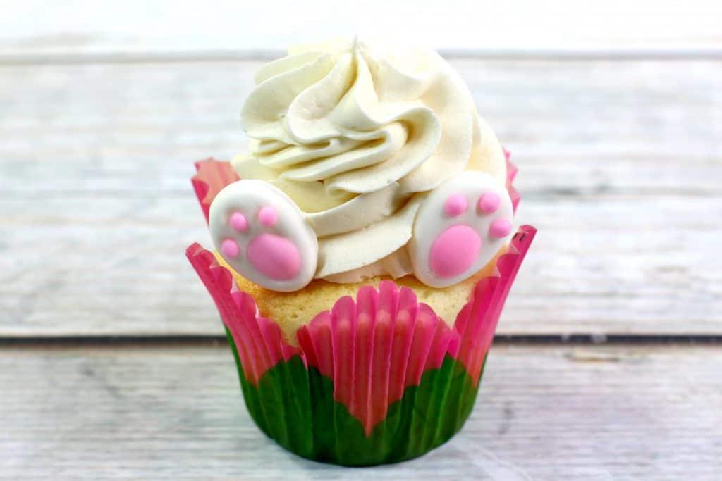 Bunny Feet cupcake