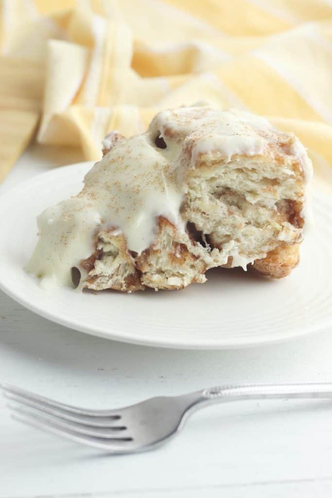 Cinnamon Roll Pull Apart Cake