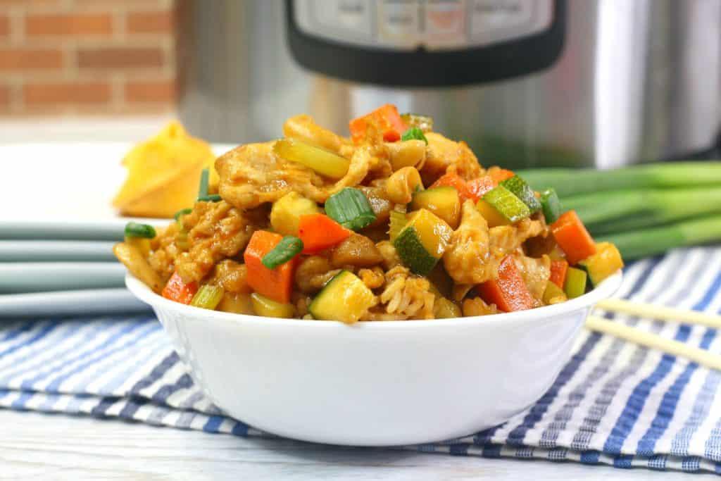 Cashew Chicken in Instant Pot