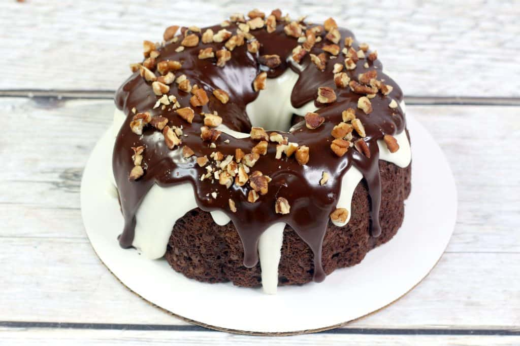 New York Super Fudge Cake Frosted