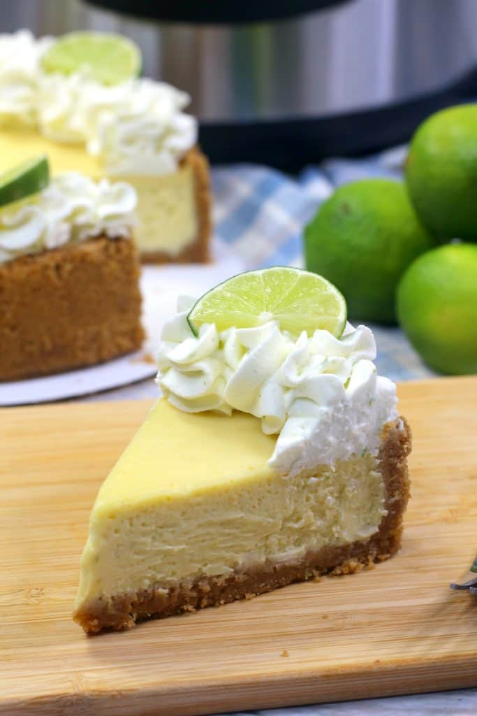 Key Lime Cheese Cake Slice