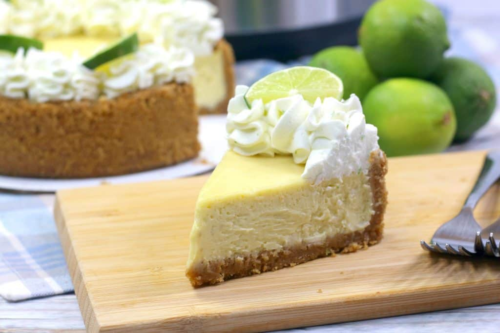 Key Lime Cheesecake with Instant Pot