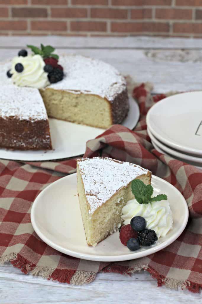 tea cake slice