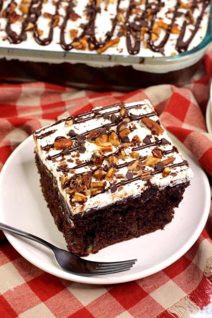 New York Fudge Sheet Cake