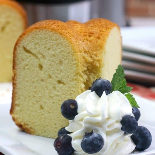 Sally Lunn Bread Cake Slice