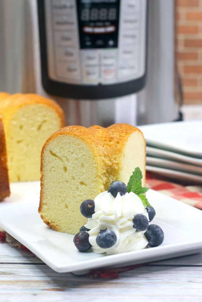 Sally Lunn Bread Slice with blueberries
