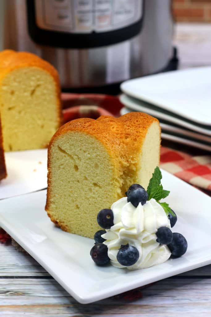 Sally Lunn Bread with whipped cream