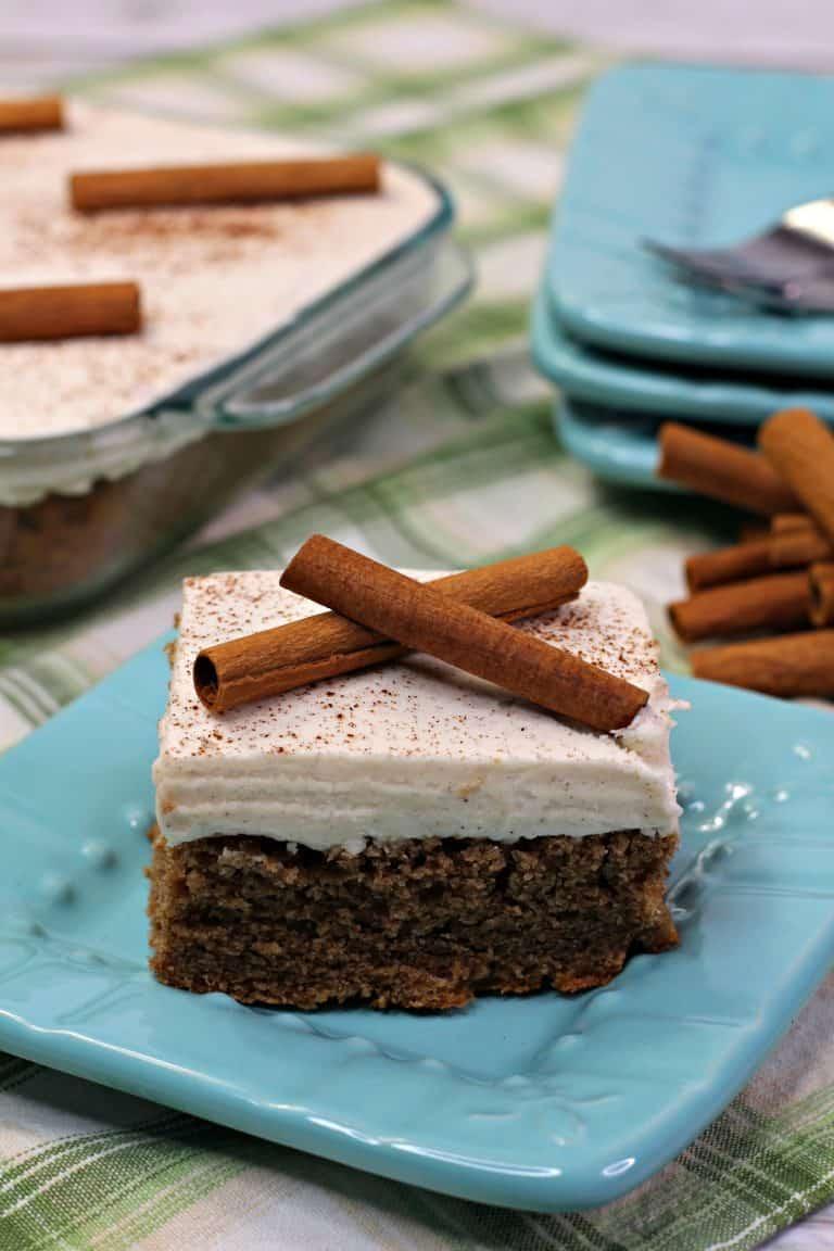Cinnamon Wacky Cake