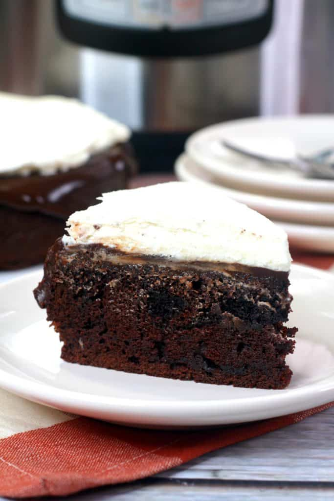 Irish Car Bomb Cake slice