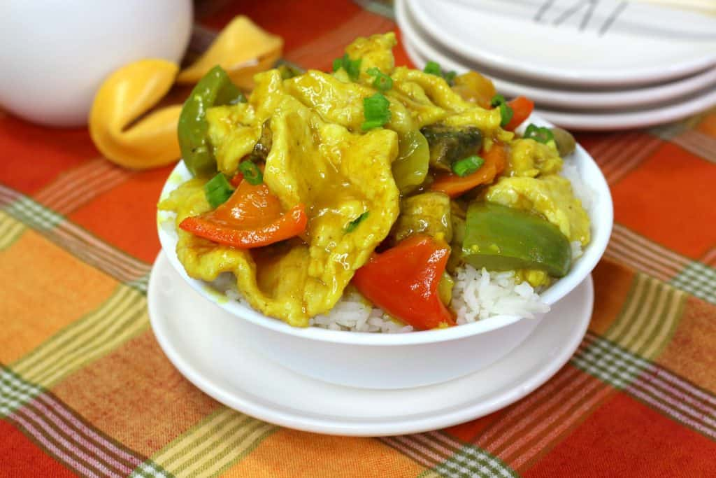 Chinese Curry Chicken Bowl