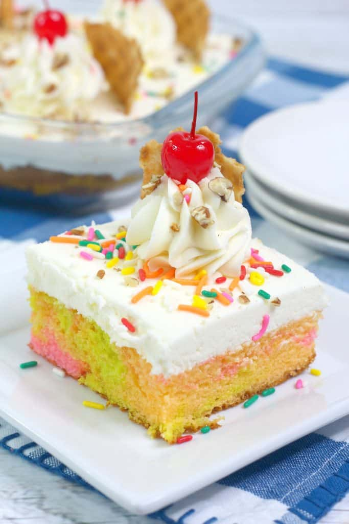 Fruity Sherbet Cake