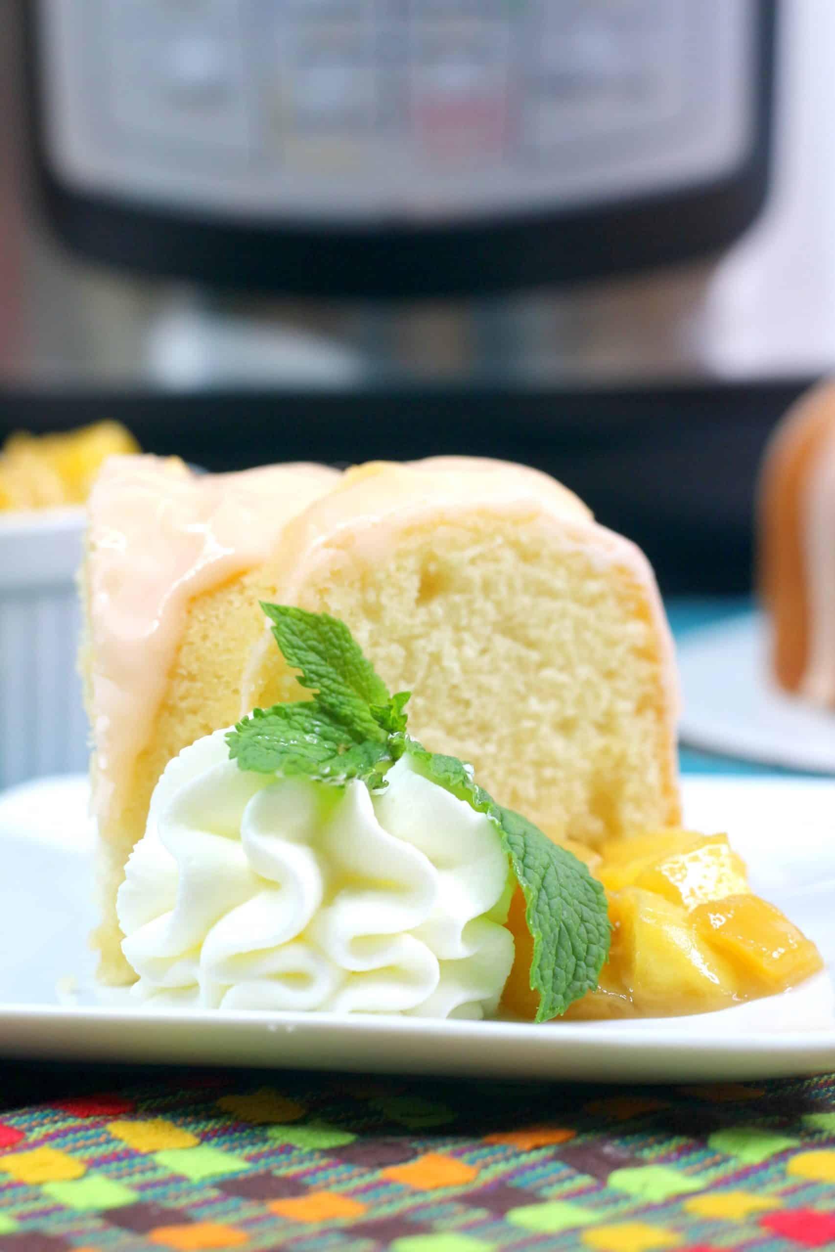 Mexican Mango Bundt Cake