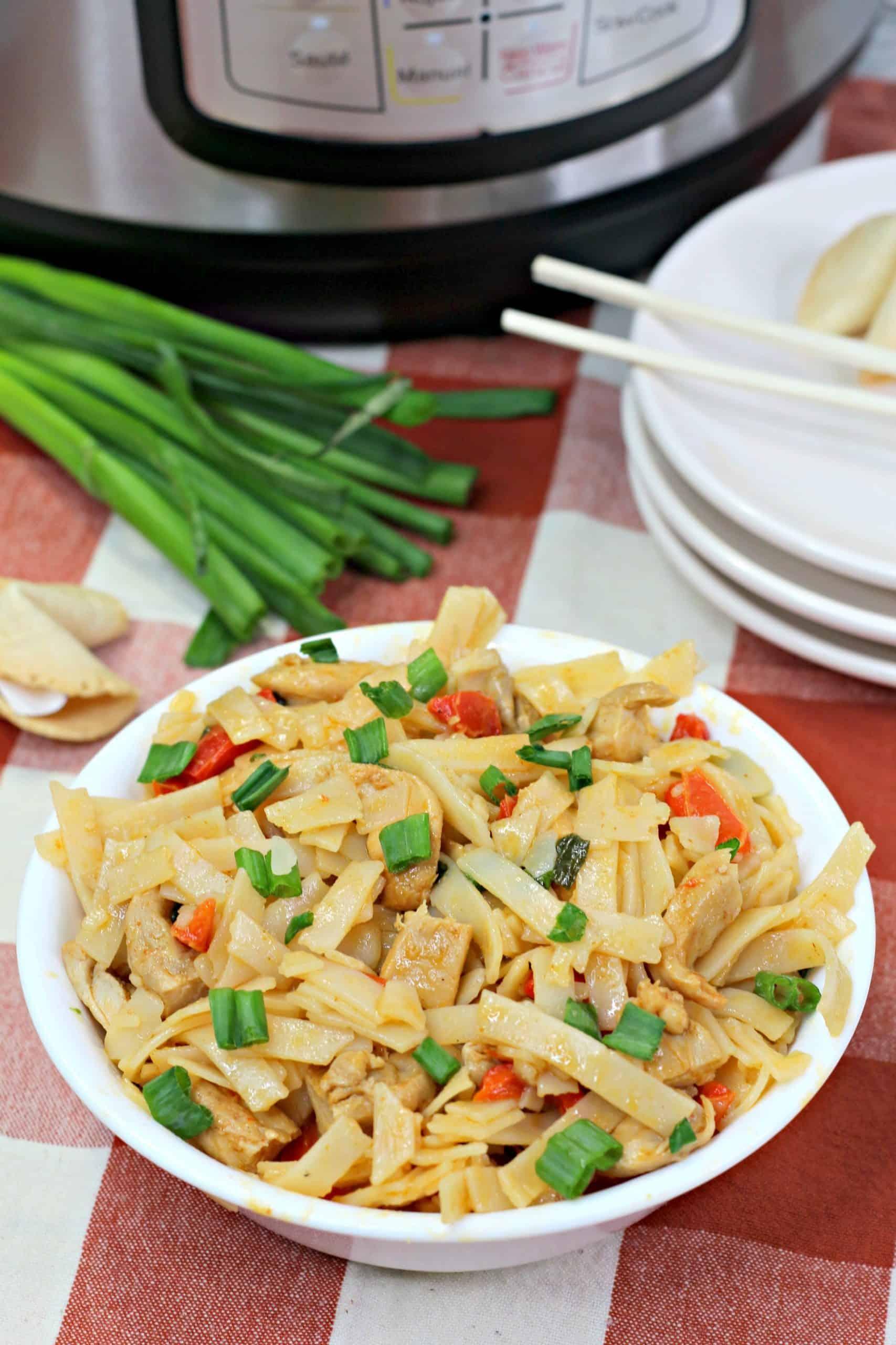 Bowl of Thai Drunken Noodles