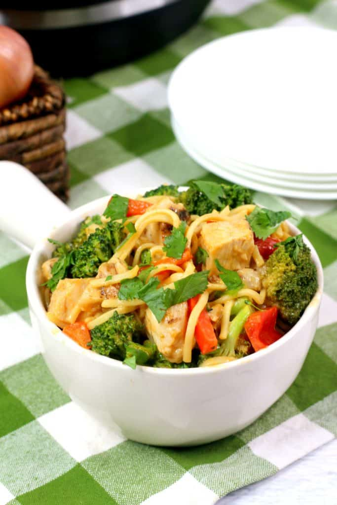 Spicy Thai Lo Mein