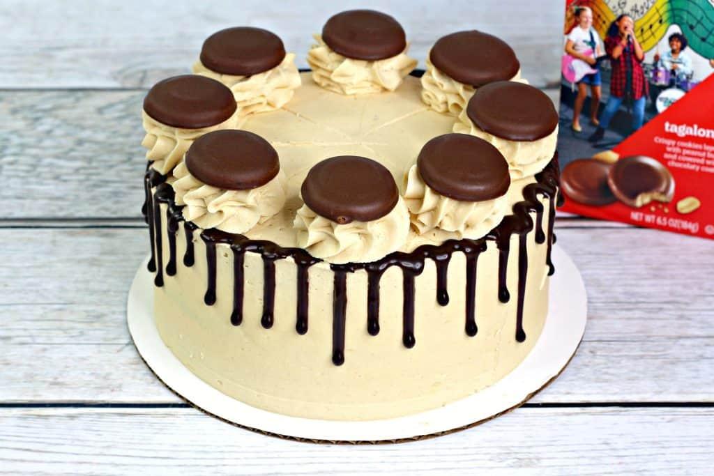 Uncut Tagalong Cake