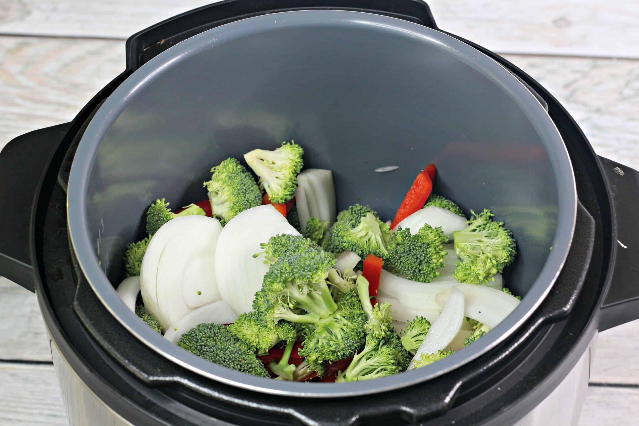 Vegetables in Instant Pot