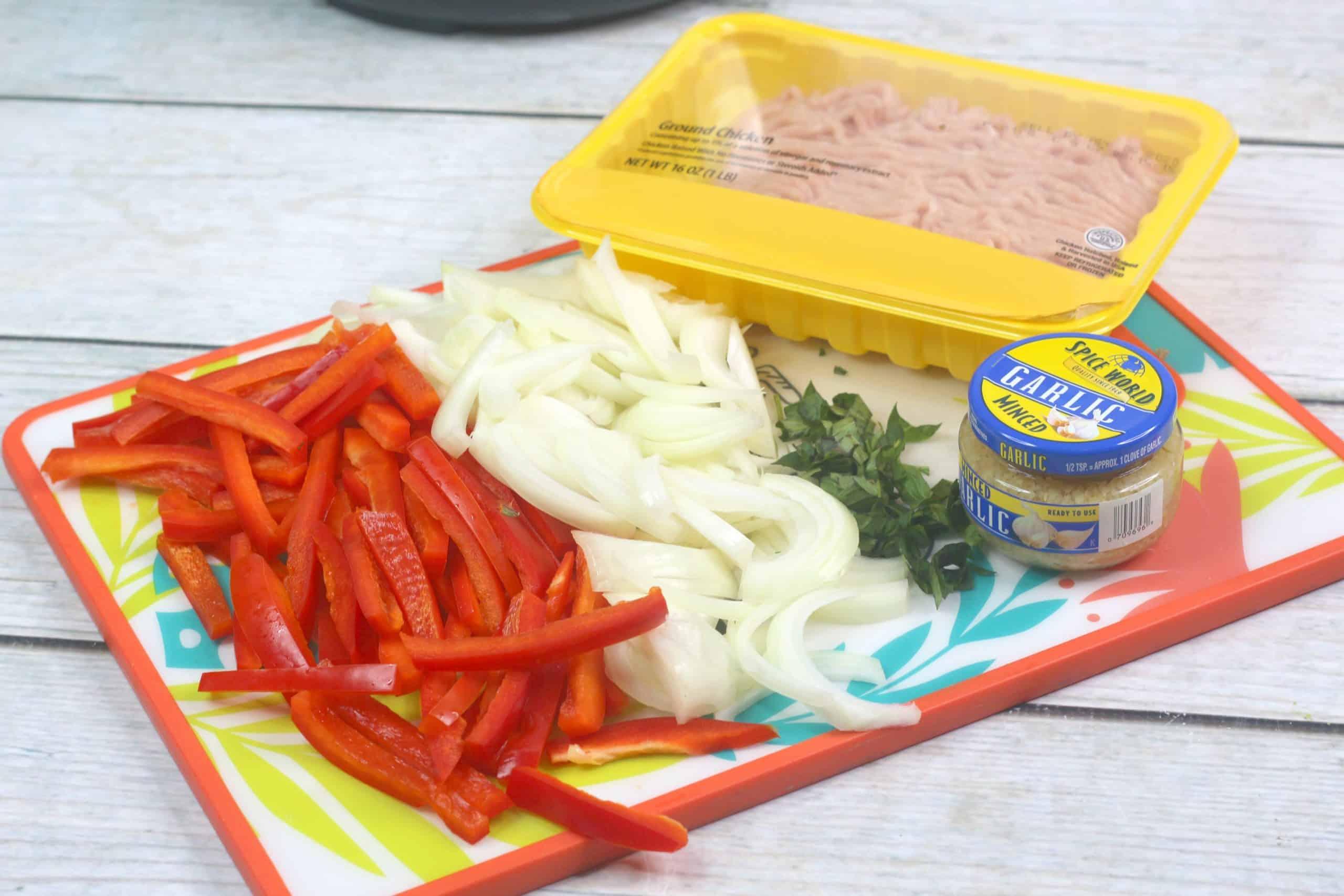 Thai Chicken Stir Fry Ingredients