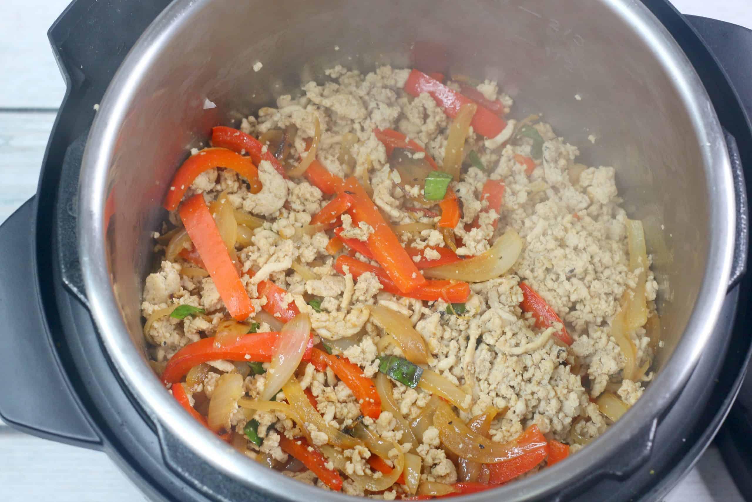 Thai Chicken Stir Fry in Instant Pot