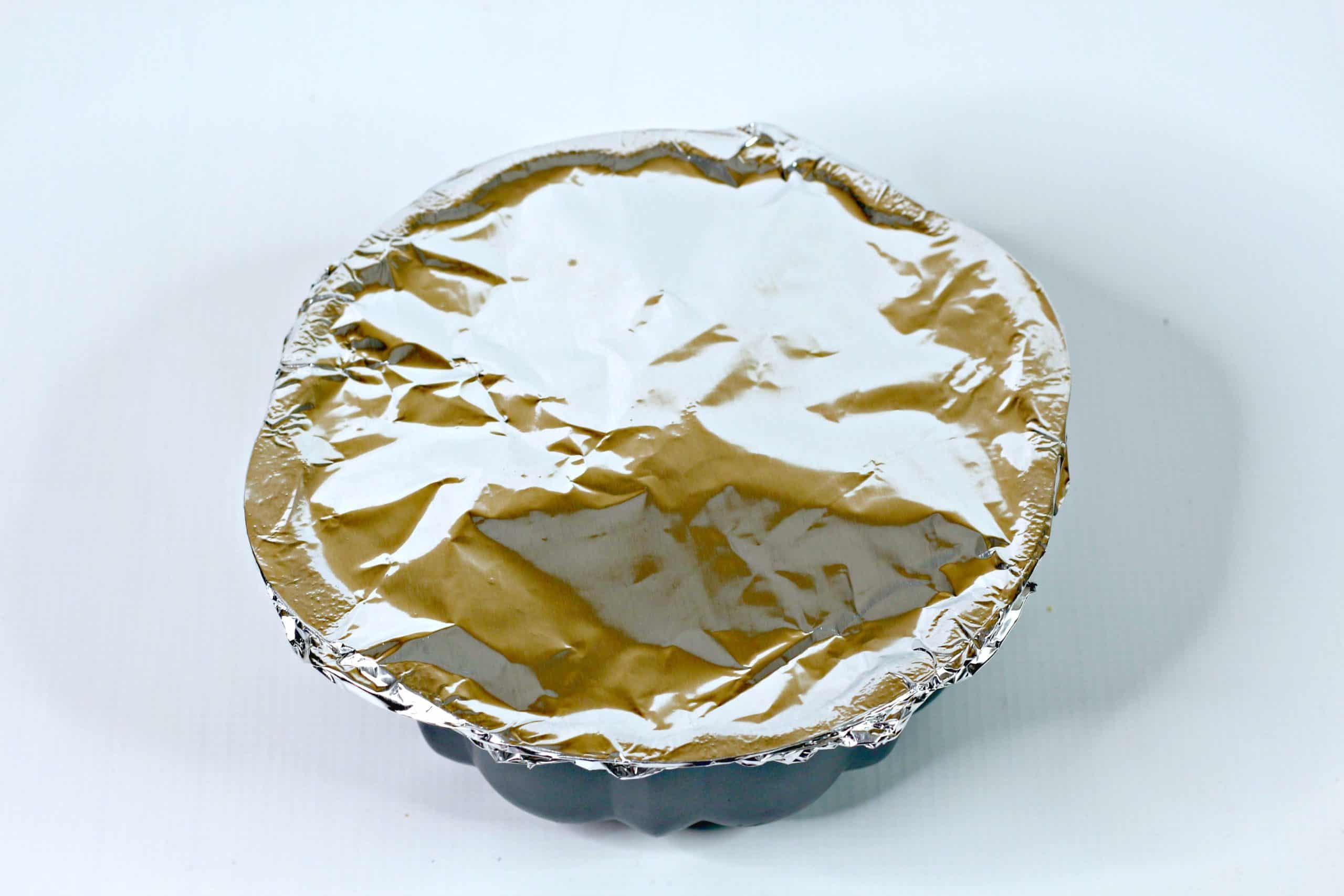 foil covered pan
