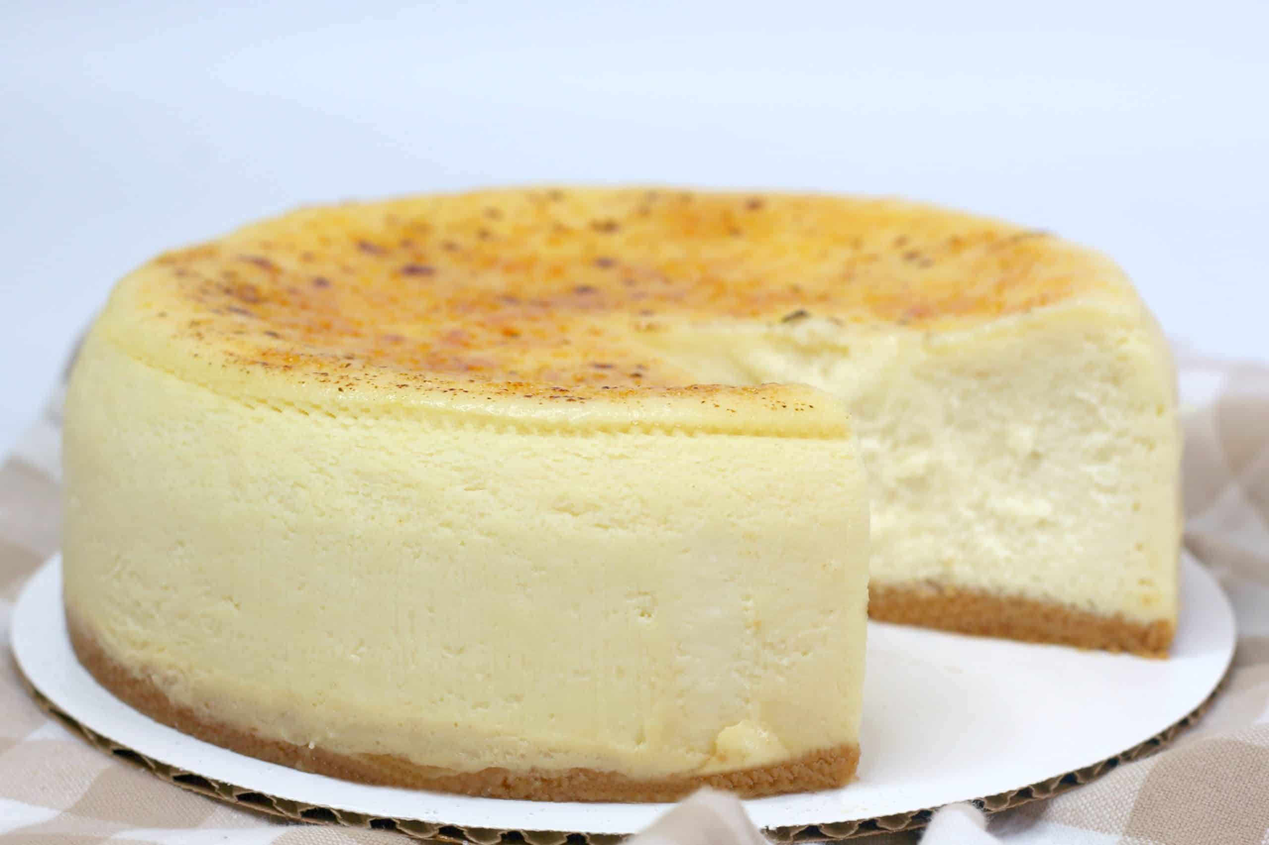 Whole Creme Brulee Cheesecake