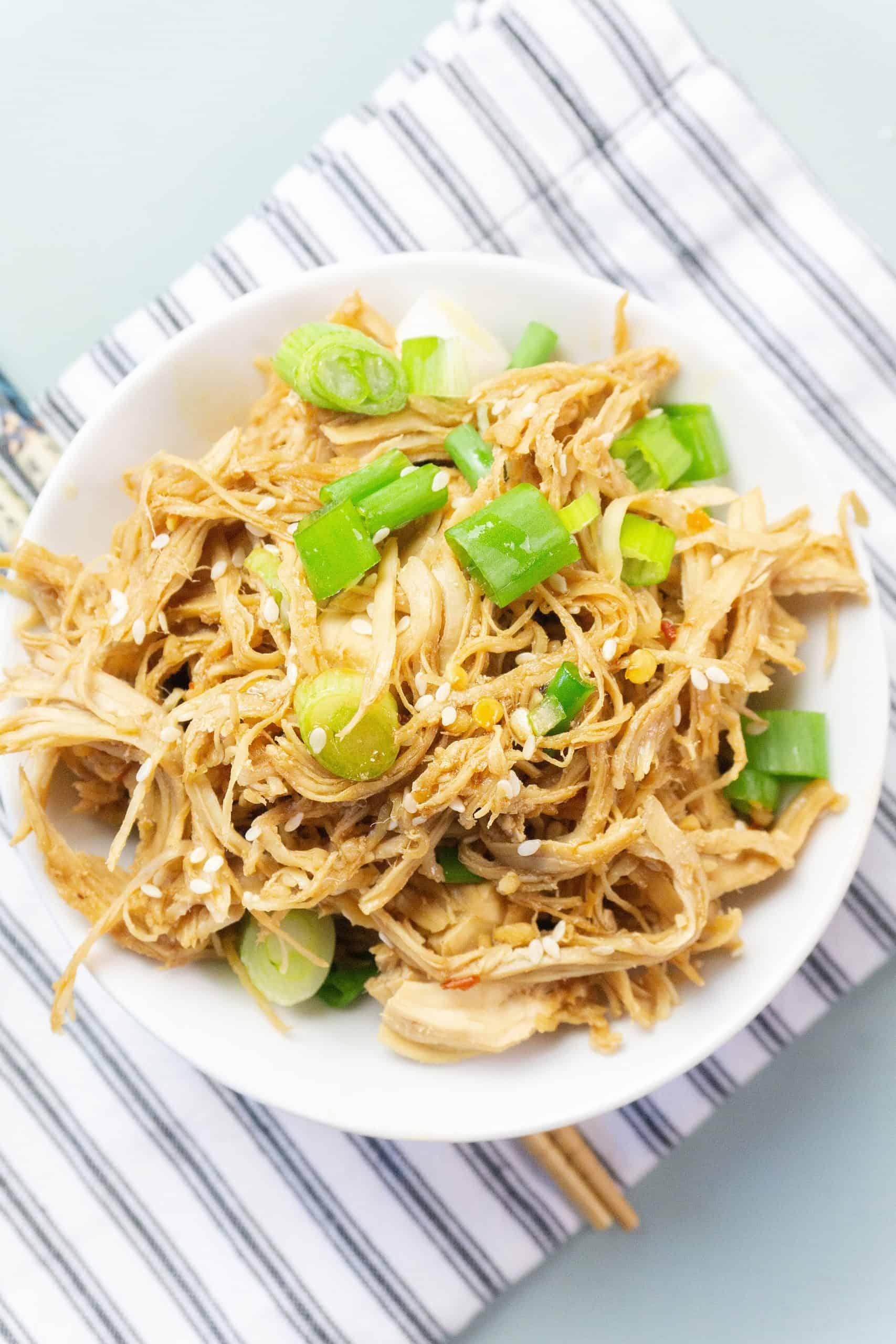 Instant Pot Garlic Teriyaki Chicken