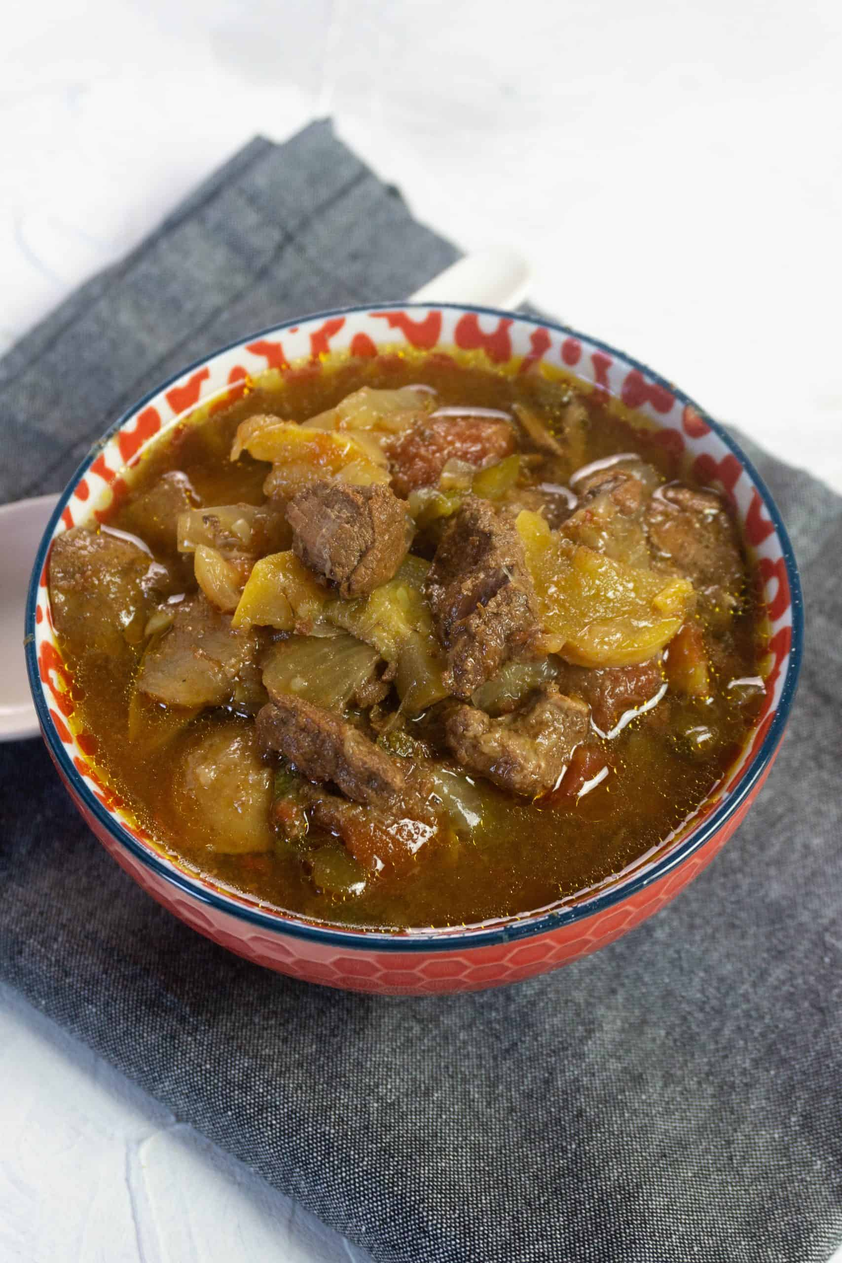 Bowl of Tuscan Beef Stew
