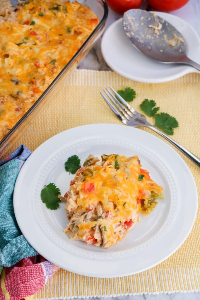 Low Carb Kings Ranch Chicken Casserole